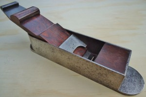 "C. Gabriel mitre plane, rosewood infill, 10 1/4"" long with a 2 1/4"" iron."